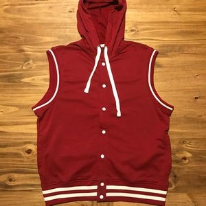 American Rag Varsity jacket without sleeves Sz. XL
